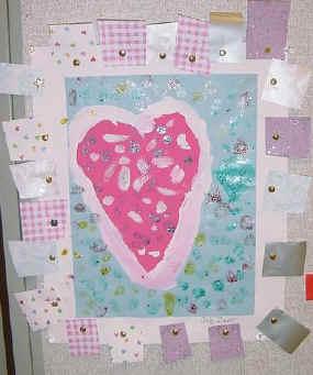 Jim Dine Inspired Heart