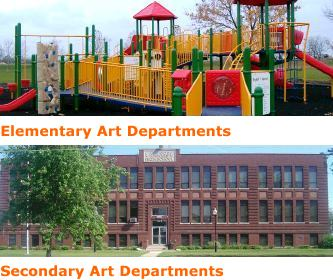 elementary and secondary art rooms