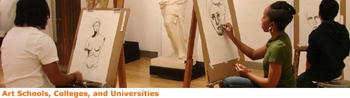 Art schools colleges and universities