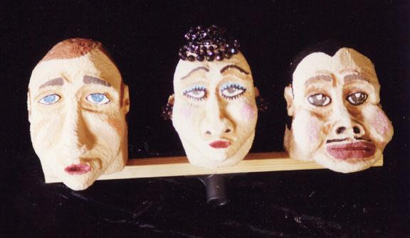 styrofoam mask