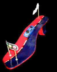 shoe sculpture