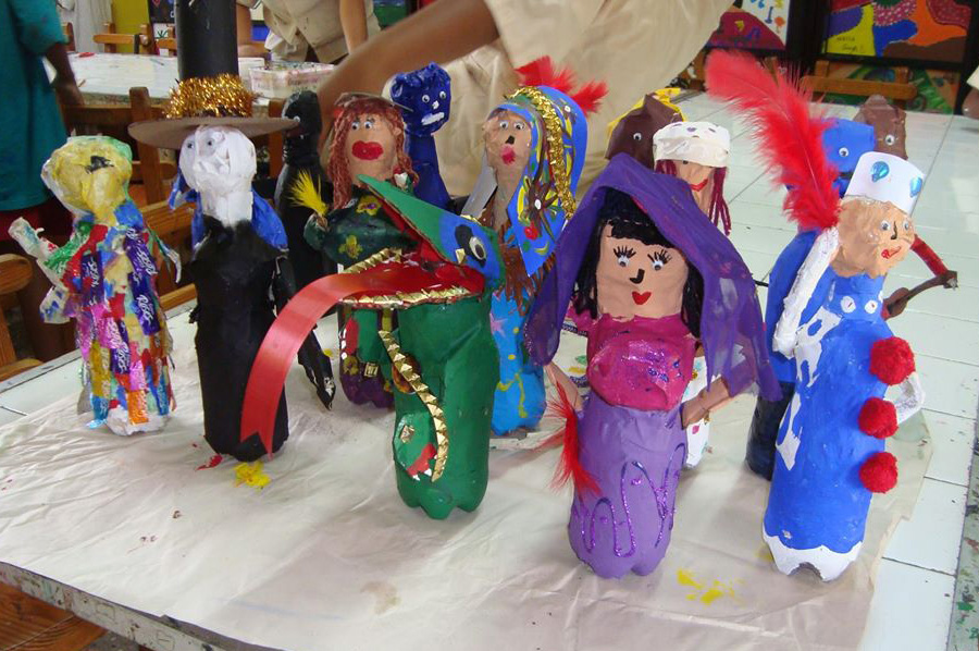 Art Lesson Plan: Bottle Dolls - Character Education