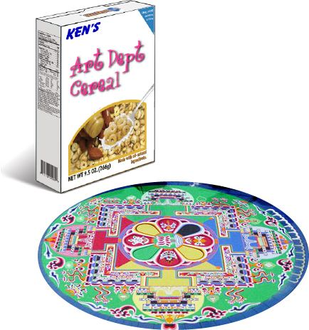 Lesson Plan Sandpainting With Cereal