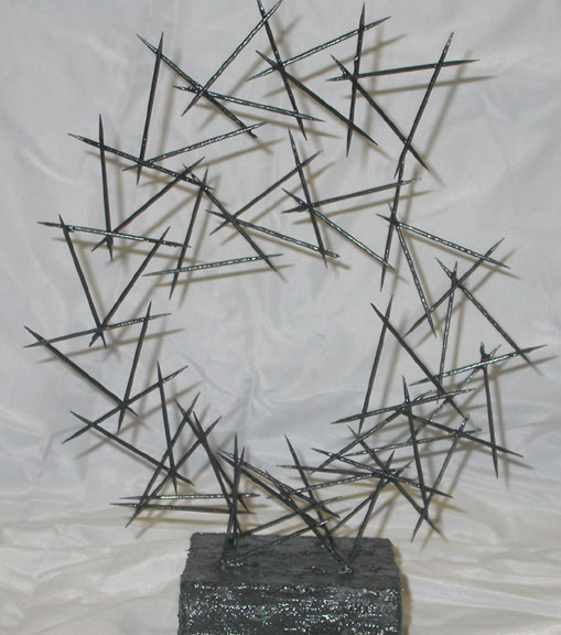 Art Lesson: Linear Toothpick Sculpture
