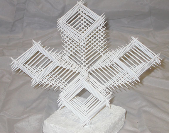 Art lesson linear toothpick sculpture for 3d art sculpture ideas