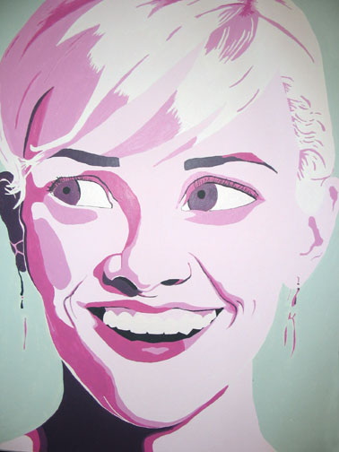 art lesson pop art monochromatic value portraits. Black Bedroom Furniture Sets. Home Design Ideas