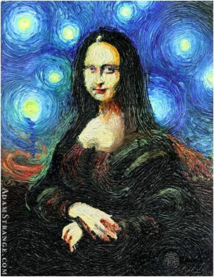 mona starry night