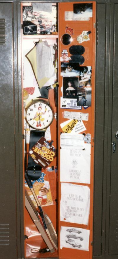 Art Lesson Locker Interior Design
