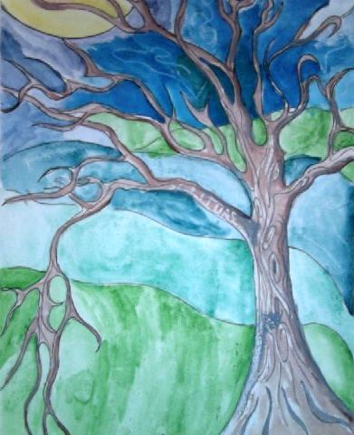 Art Lesson Emily Carr Watercolor Trees
