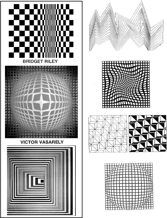 Art Lesson: Op Art Cube