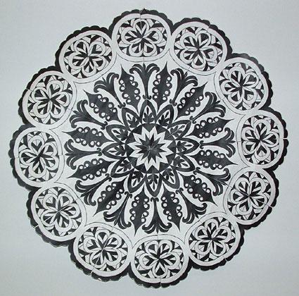 Art Lessons Radial Design Mandalas