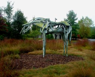 second view of sculpture by Deborah Butterfield