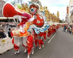 Art Lesson: Chinese Parade Lions or Dragons