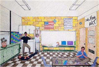 Art lessons perspective drawing for Interior design lesson plans for high school