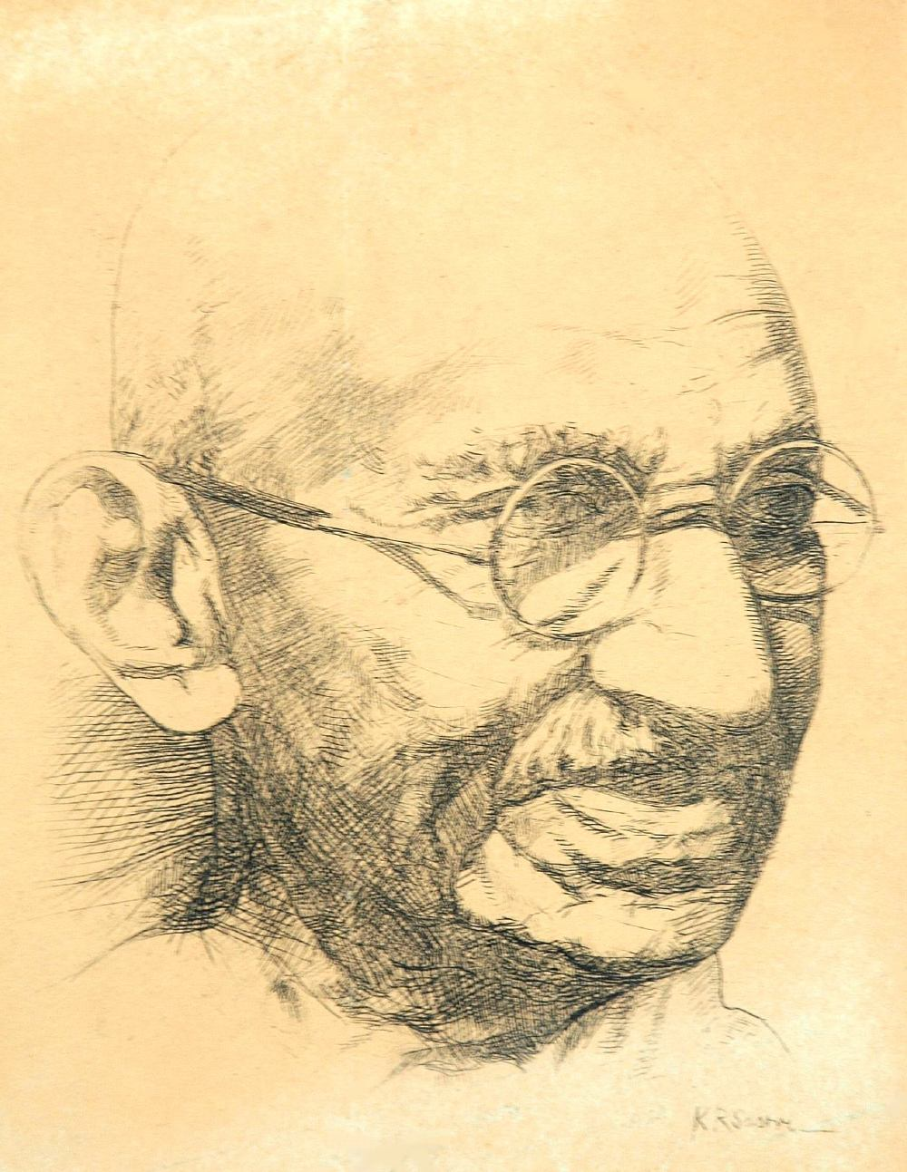 thesis on mahatma gandhi