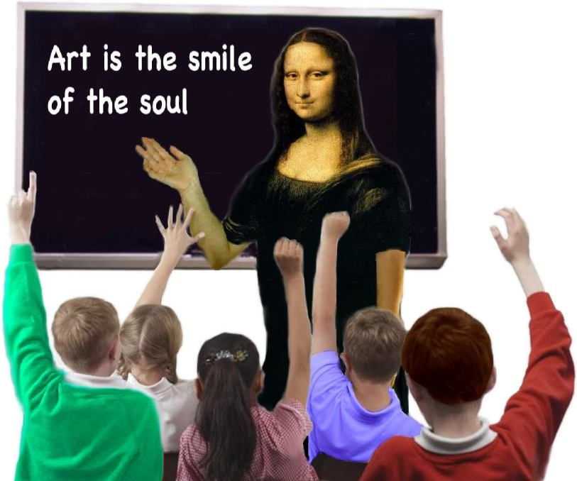 Mona Lisa teacher