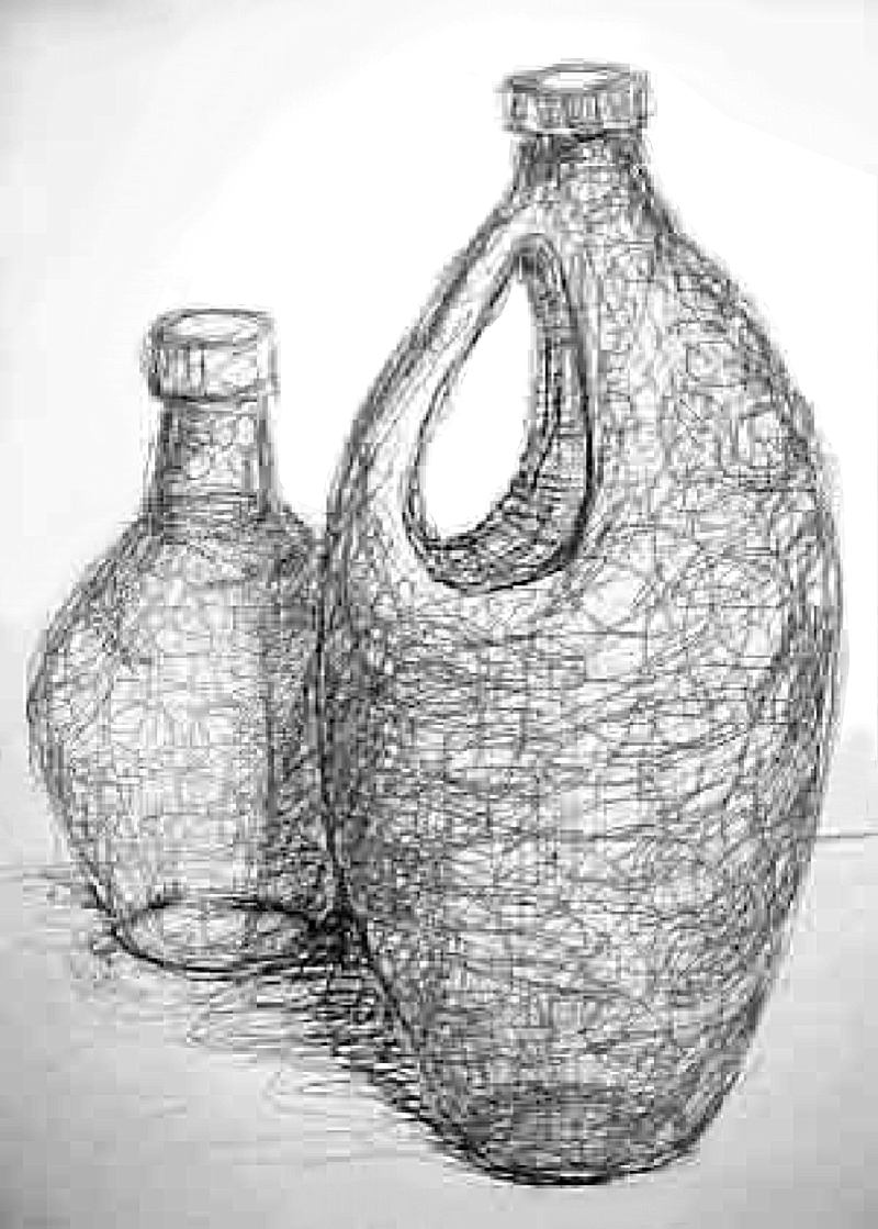 Scribble Drawing Of Objects : Art lesson gesture drawing