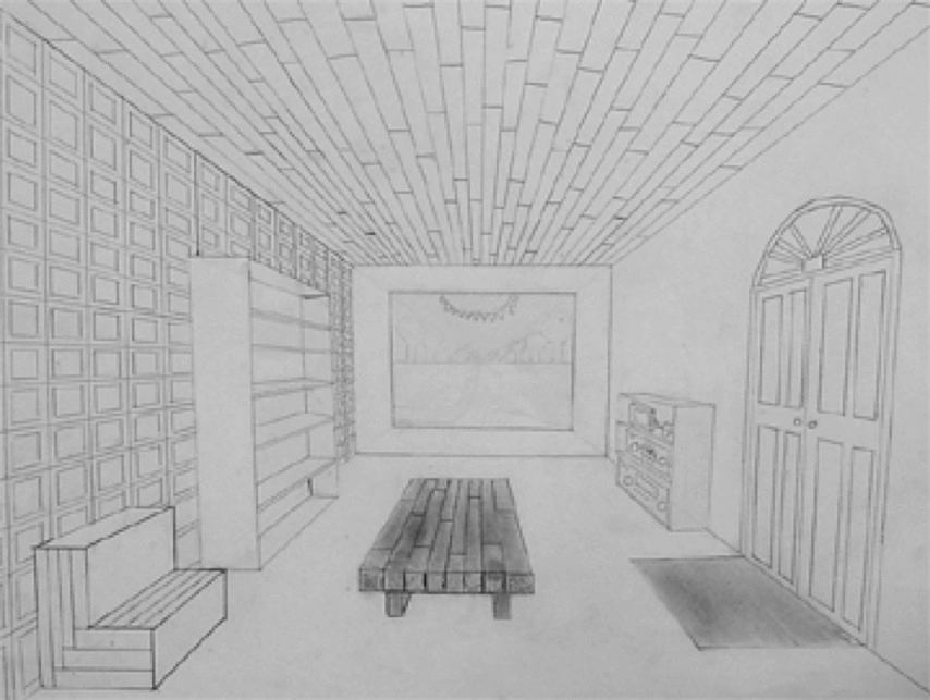 Art Lesson 1 2 And 3 Point Perspective