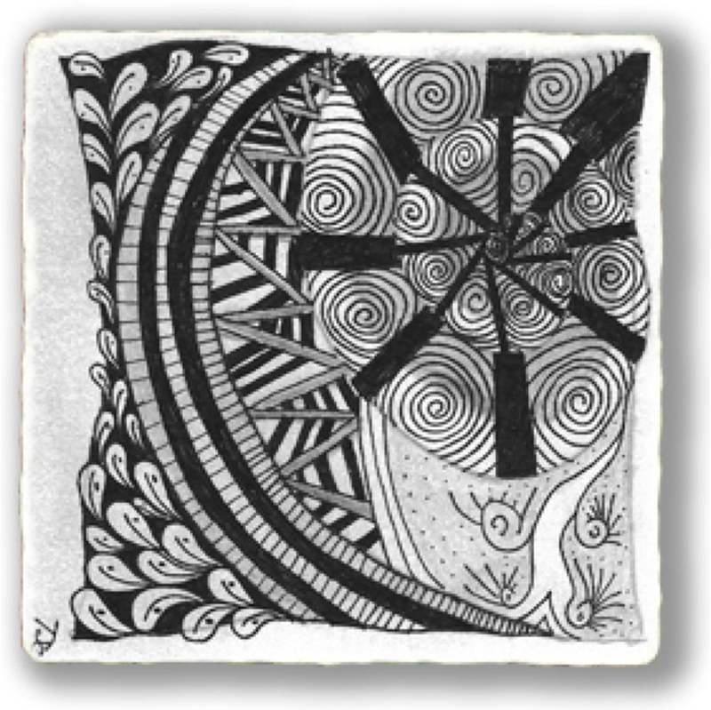 Art Lessons: Creating Zentangles