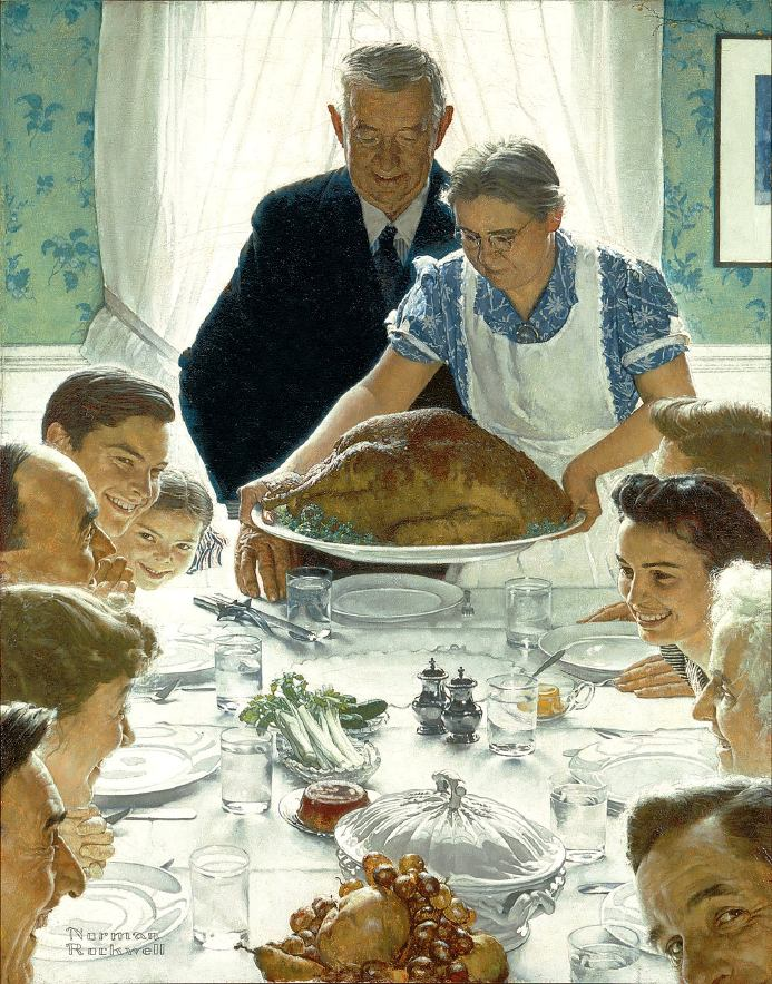 Rockwell's Freedom from Want