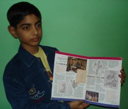 Gaurav and his illustrations